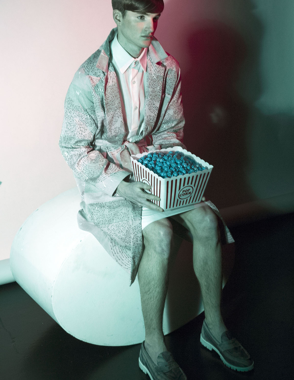 Pink Dreams - Peter Frampton by Karolina Hubner for CHASSEUR Magazine