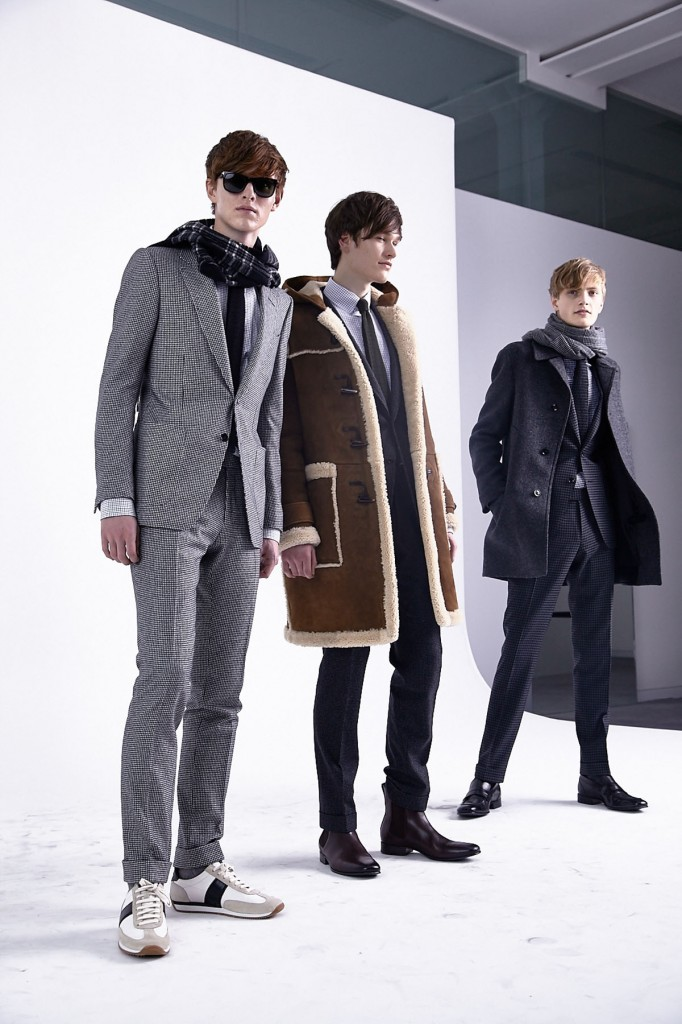 TOM FORD 2015 Autumn Winter London Collections © CHASSEUR MAGAZINE