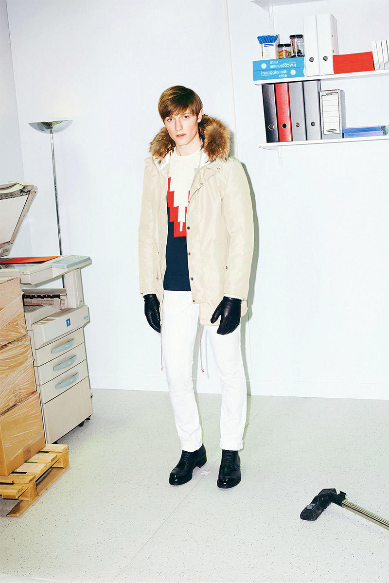 MAISON KITSUNE 2015 Autumn Winter Collection (15)