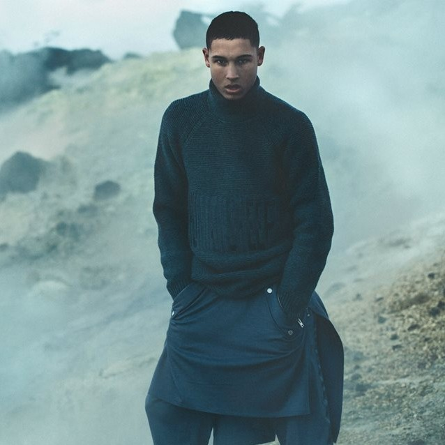 Asger Juel Larsen 2015 Autumn Winter Campaign