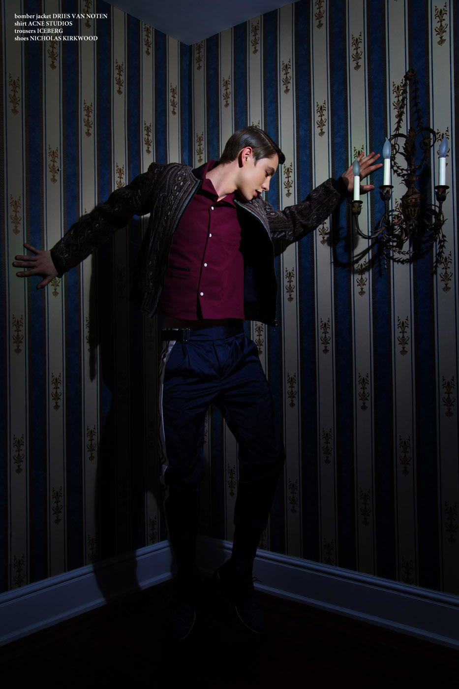 Phillip Mayberry by Meghan Uno for CHASSEUR MAGAZINE