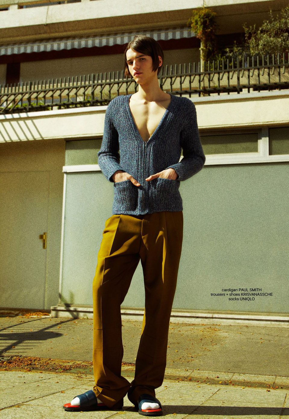 Down On The Street by Jun Yasui for CHASSEUR MAGAZINE