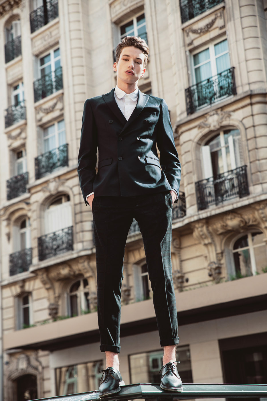 HUGO by Ben Fohrer for CHASSEUR Magazine