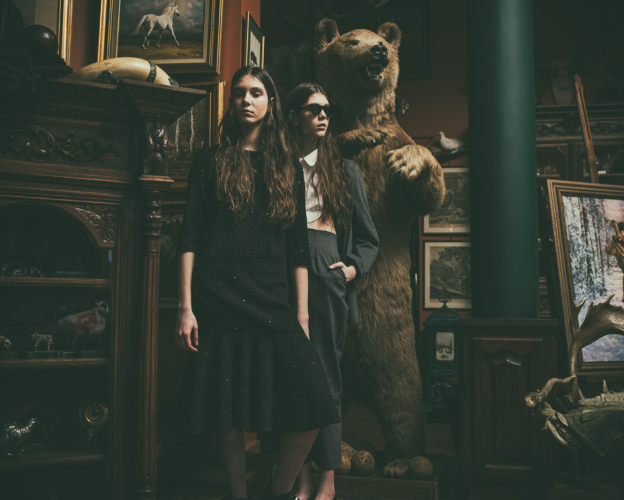 SISTERS by Zija and Pioro for CHASSEUR MAGAZINE