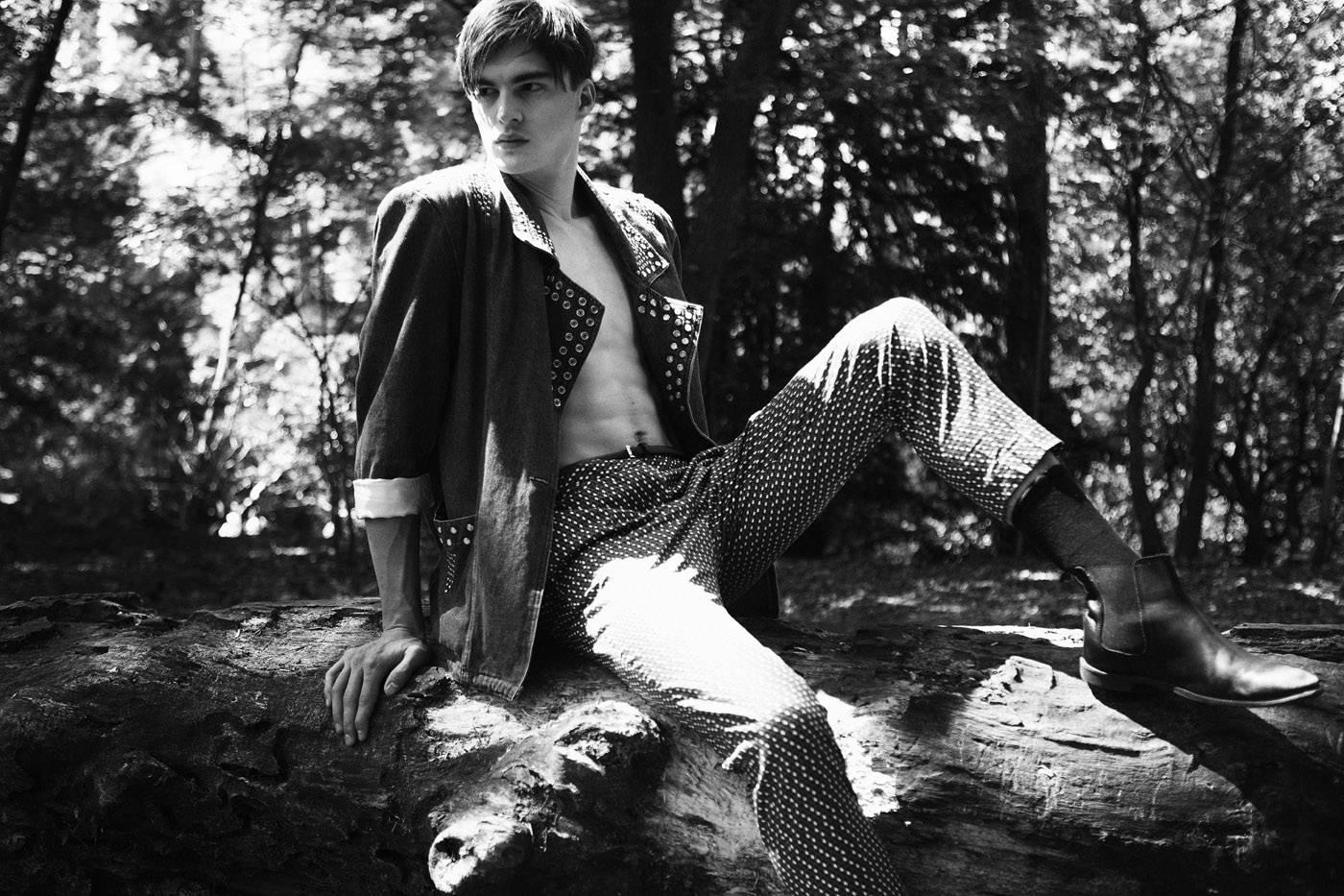 Thibault Gildas by Frederic Monceau for CHASSEUR MAGAZINE