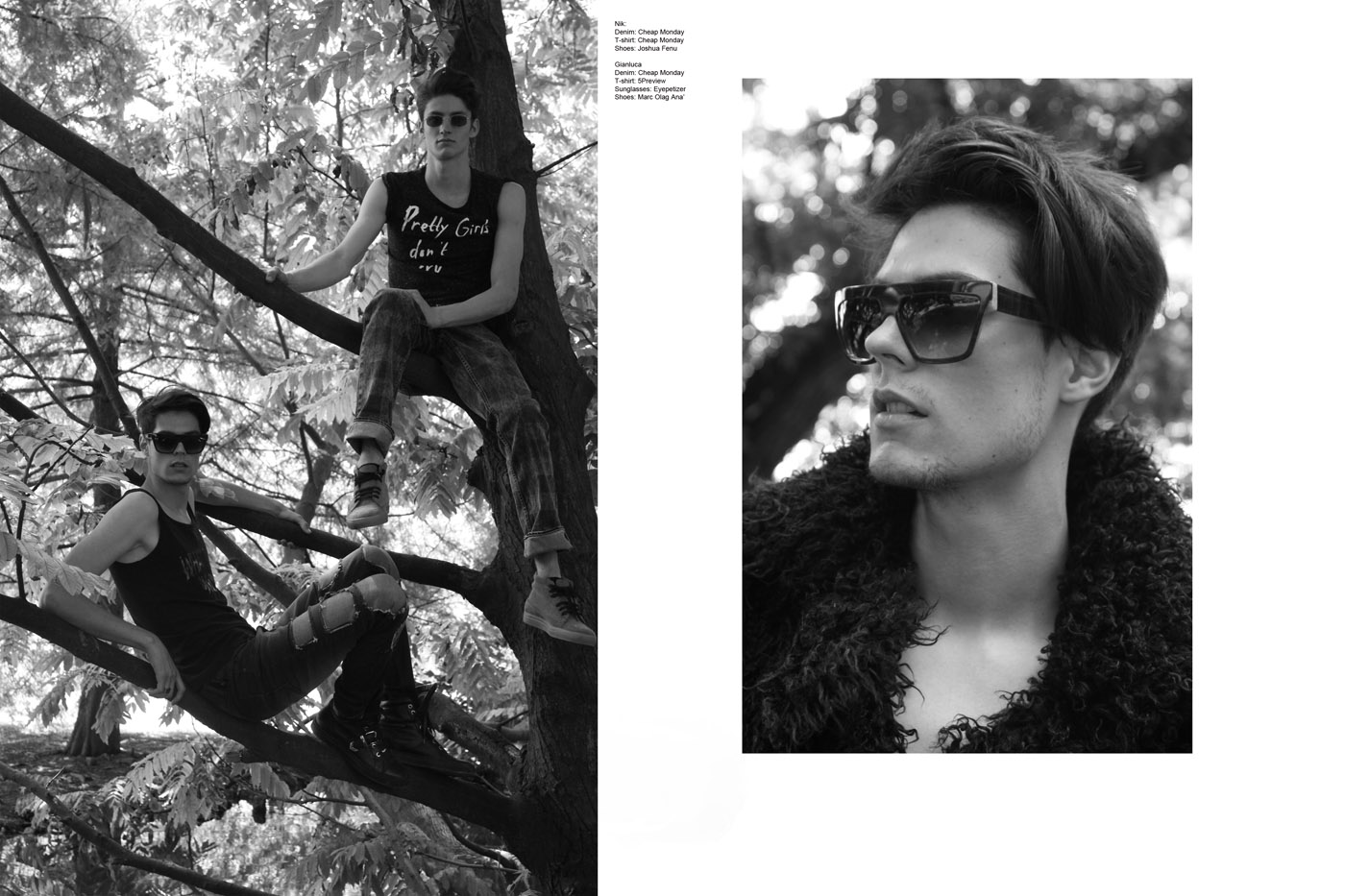 Into The Wild by Kevin Pineda for CHASSEUR MAGAZINE