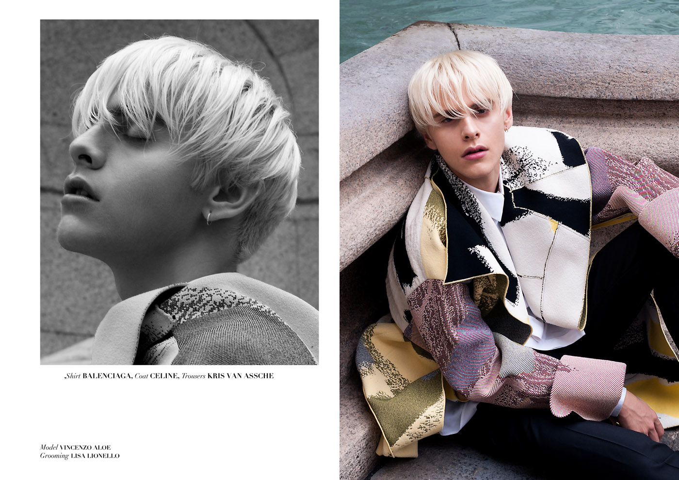 Vincenzo by Simone Lorusso for CHASSEUR MAGAZINE