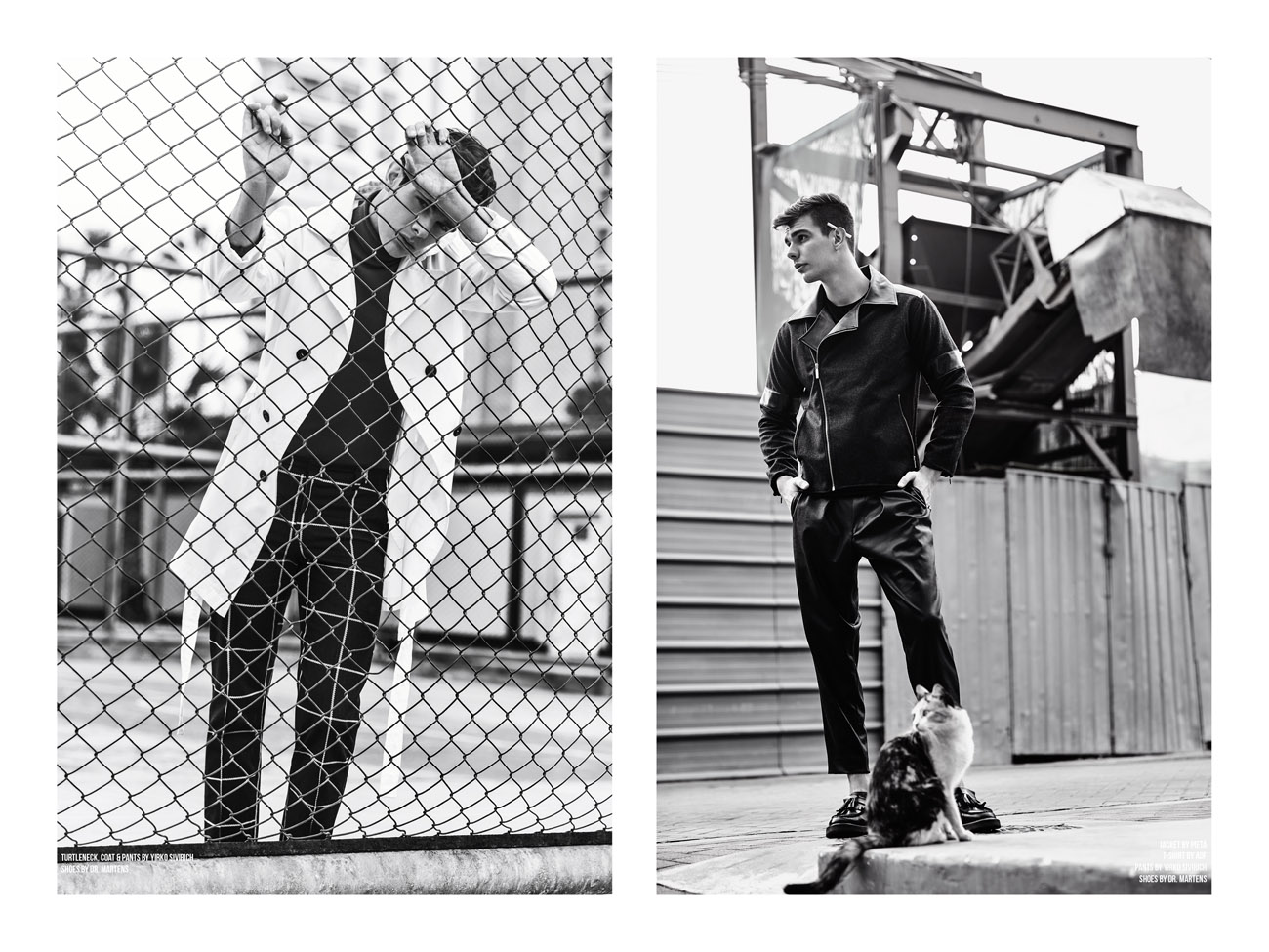 Keep On Walking by Jorge Anaya for CHASSEUR MAGAZINE
