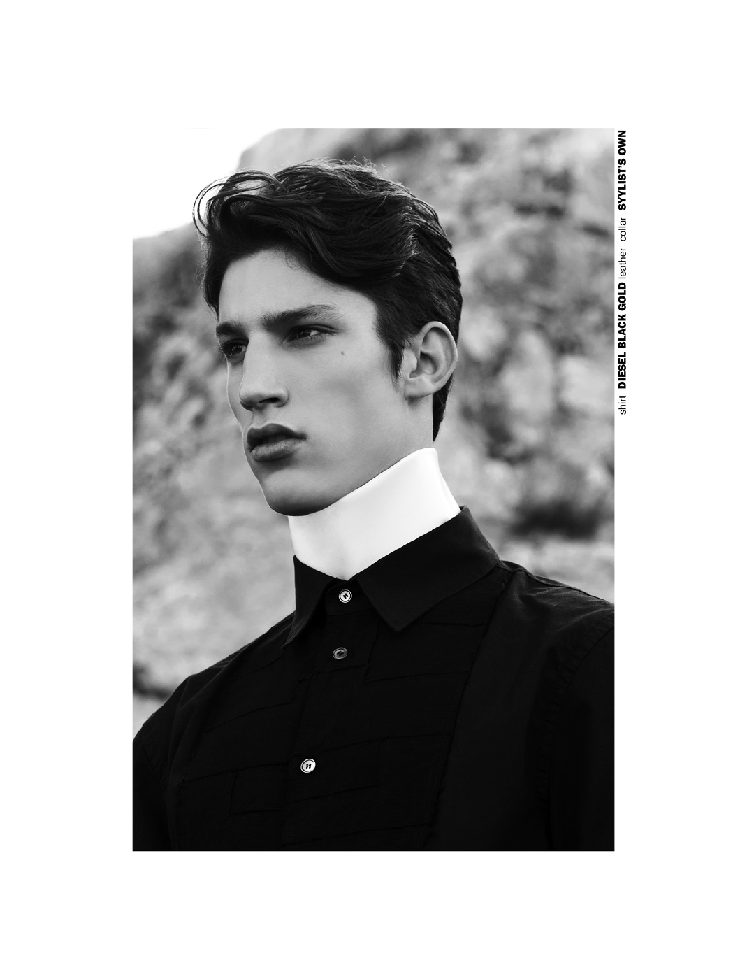 Iasonas Laios by Yannis Tzannis for CHASSEUR MAGAZINE issue #11 - Yours Was The Body