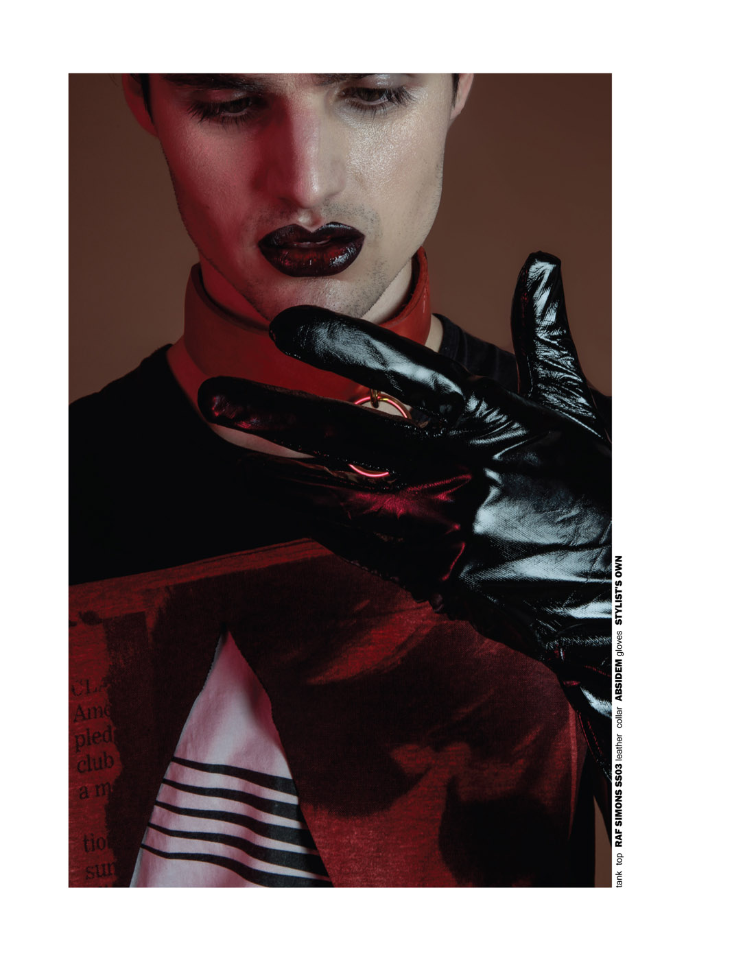Bring On The Night, We Don't Care by Lorenzo Marcucci for CHASSEUR MAGAZINE ISSUE #11 - YOURS WAS THE BODY