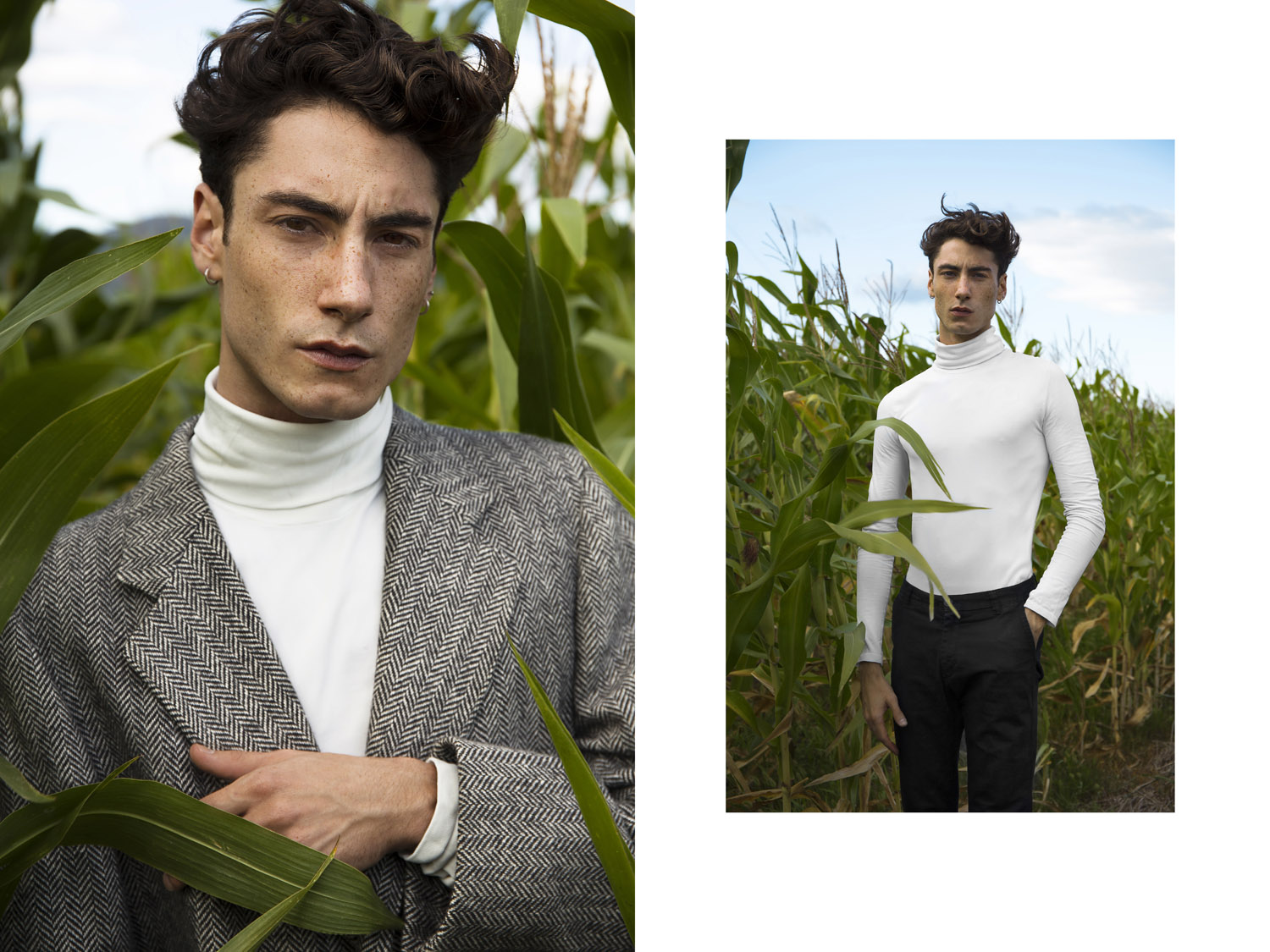 OUTSIDE by Marco Imperatore for CHASSEUR MAGAZINE