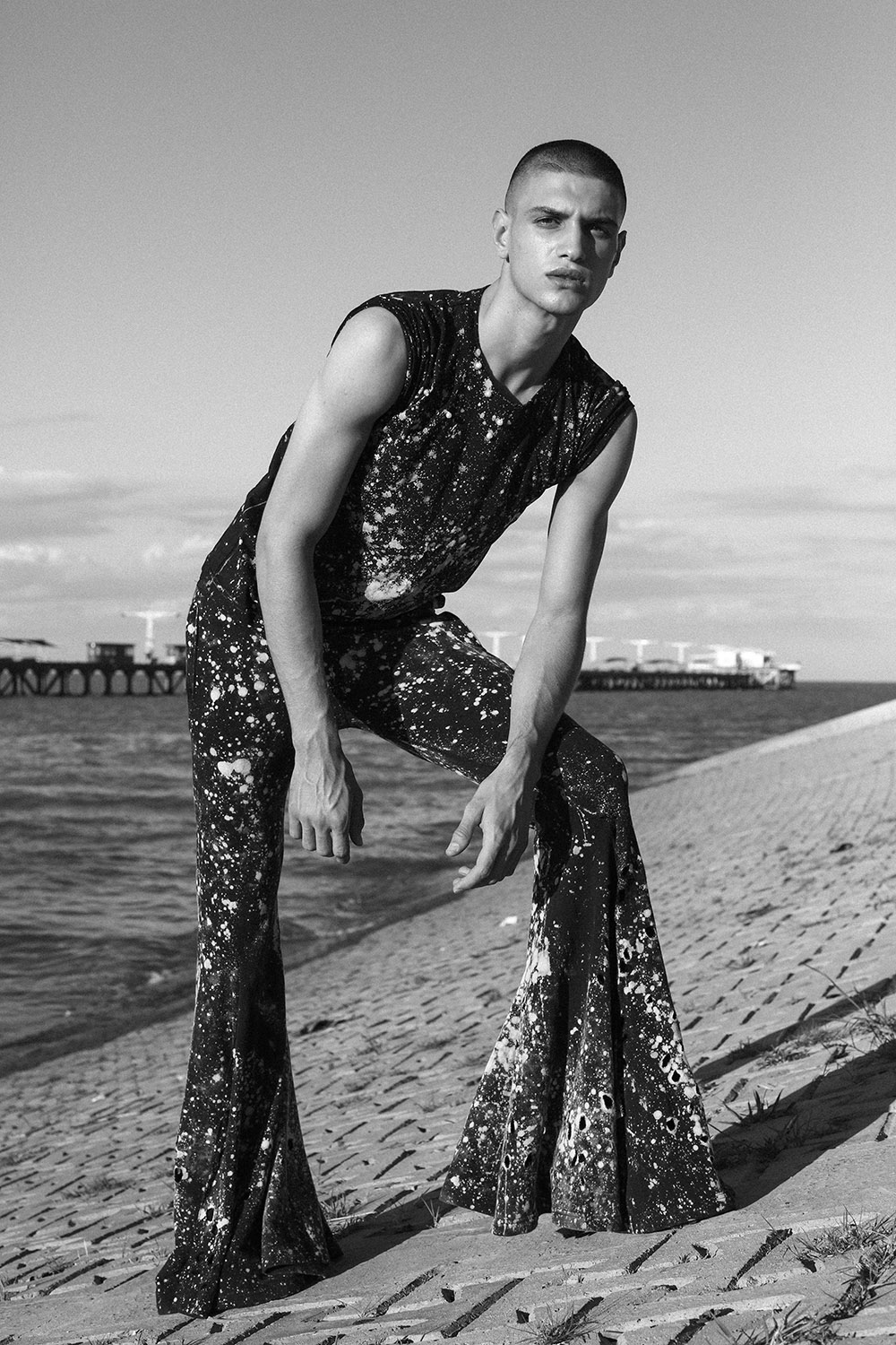 Wear Me Like A Dress by Milos Nasio for CHASSEUR MAGAZINE (1)
