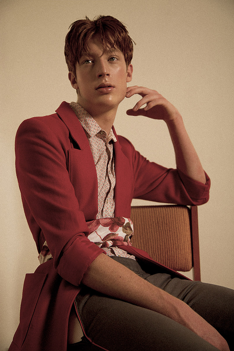 LOVELY RED by David Suarez for CHASSEUR MAGAZINE (6)