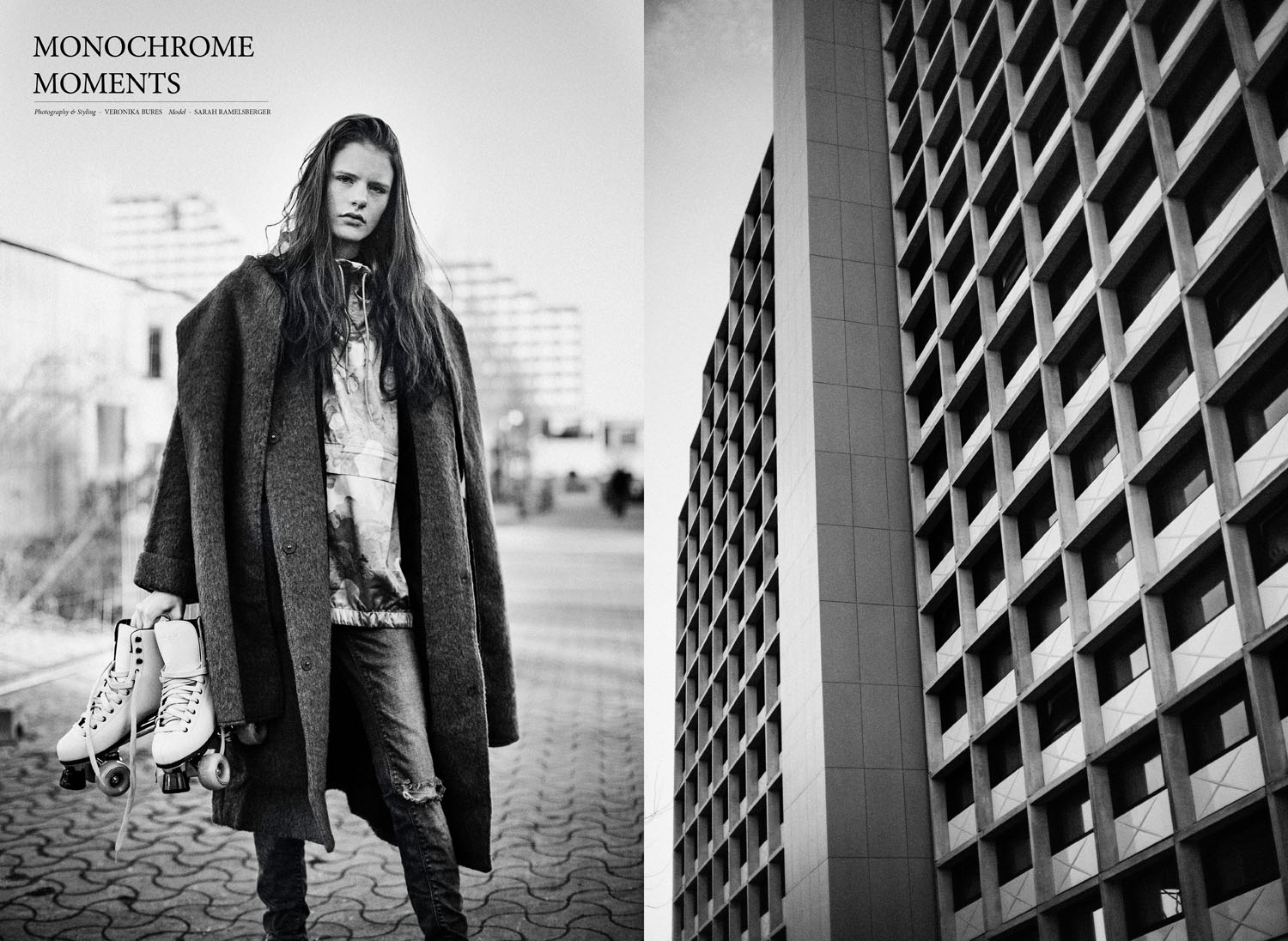 Monochrome moments by Veronika Bures for CHASSEUR MAGAZINE (1)