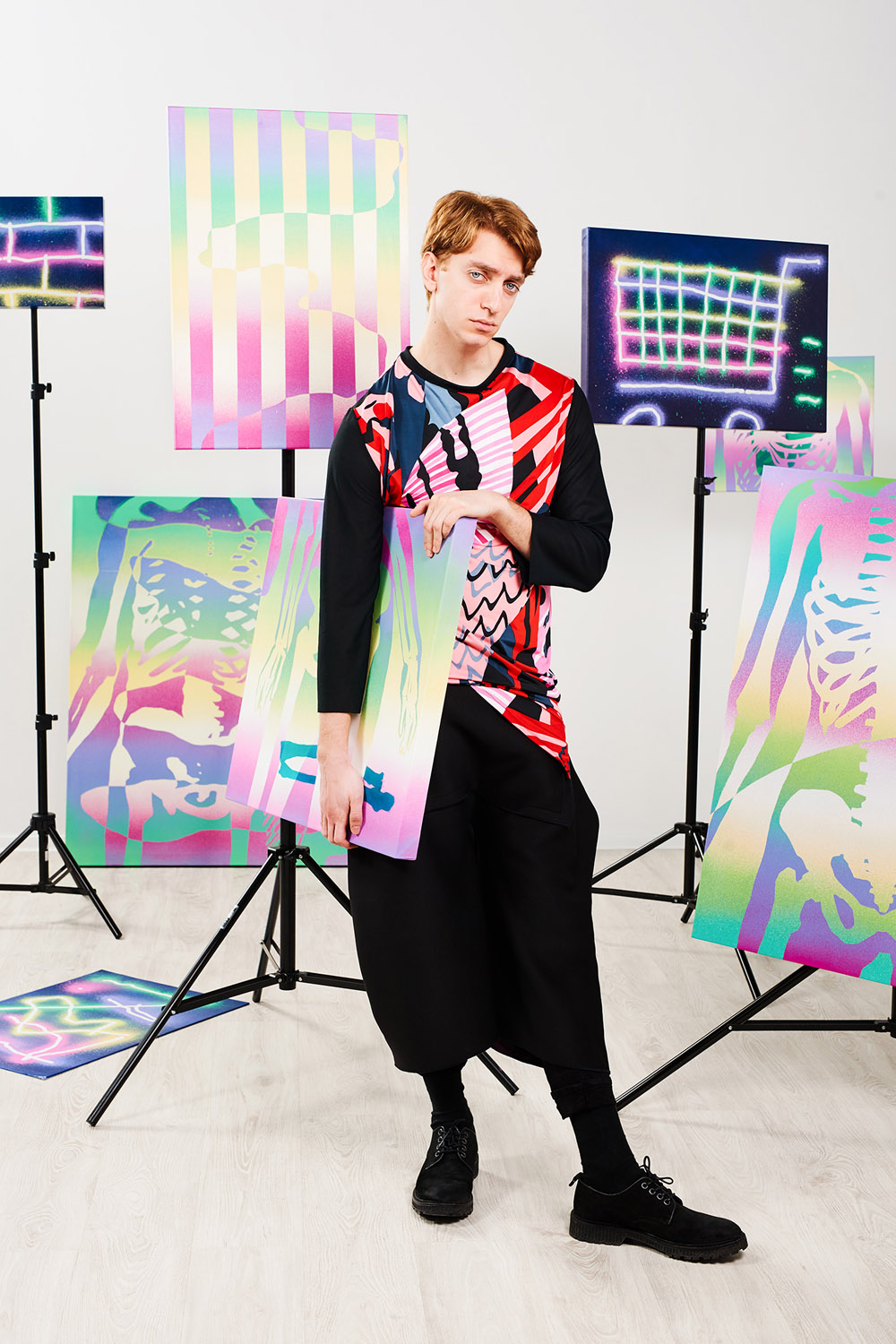 PRINT PARTY by Kelemen for CHASSEUR MAGAZINE (1)