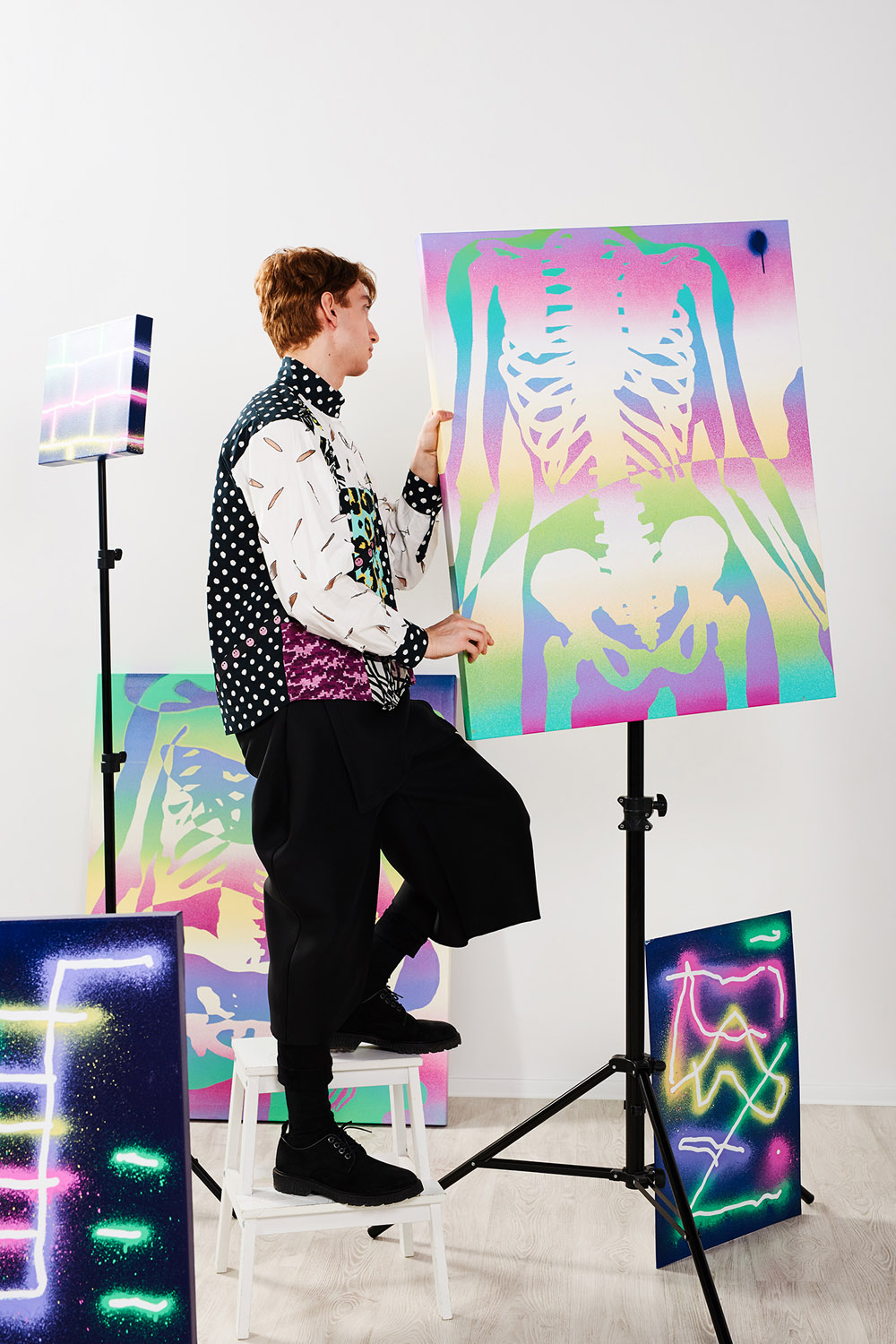 PRINT PARTY by Kelemen for CHASSEUR MAGAZINE (5)
