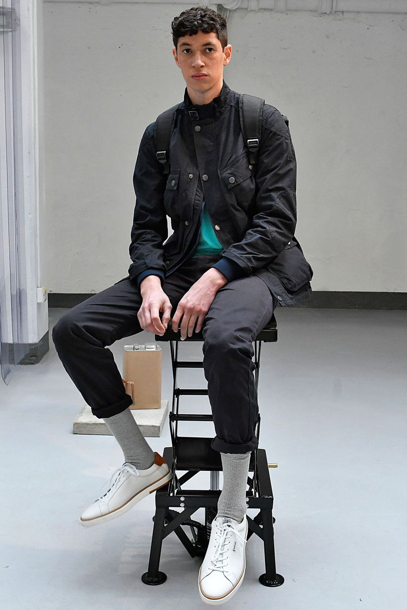 Barbour 2018 Spring Summer Collection - London Fashion Week Men's (2)