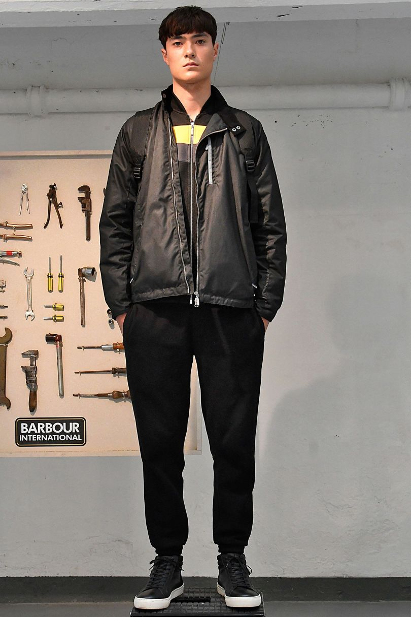 Barbour 2018 Spring Summer Collection - London Fashion Week Men's (4)