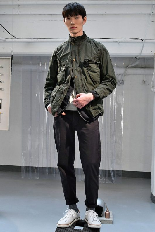 Barbour 2018 Spring Summer Collection - London Fashion Week Men's (7)