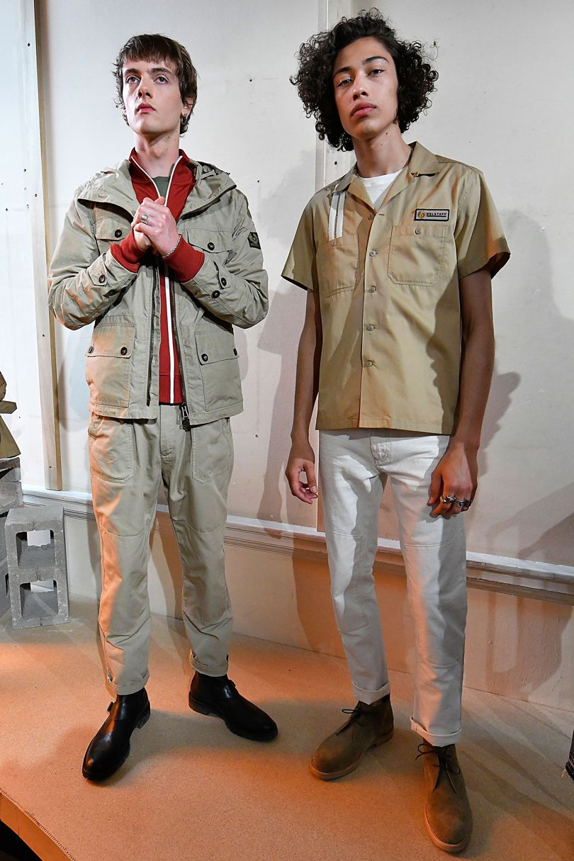 Belstaff 2018 Spring Summer Collection - London Fashion Week Men's (17)