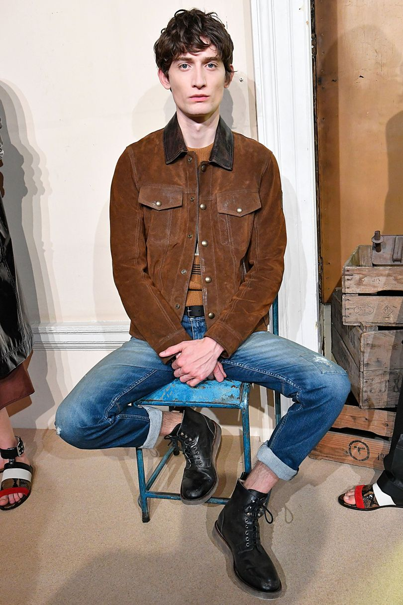 Belstaff 2018 Spring Summer Collection - London Fashion Week Men's (23)