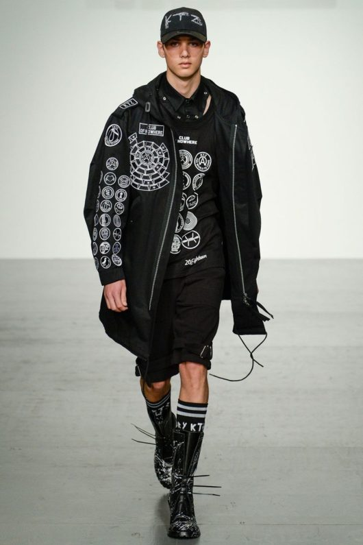 KTZ 2018 Spring Summer Collection - London Fashion Week Men's (16)