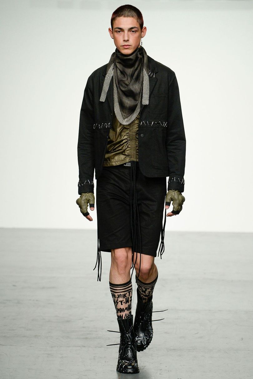 KTZ 2018 Spring Summer Collection - London Fashion Week Men's (21)